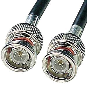 サンワサプライ 10BASE2用同軸ケーブル 両端BNCコネクタ付 チーパネット(Thinイーサネット)用 5m KB-10B2-05K