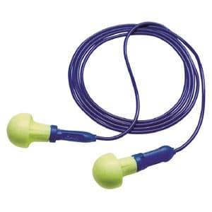 耳栓 E-A-Rプッシュインスミニ フォームタイプ サイズフリー NRR値28dB ひも付(584mm) 318-1001