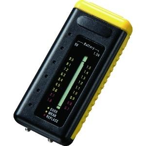 サンワサプライ デジタル電池残量チェッカー コンパクトタイプ 18段階デジタルメモリ表示 CHE-BT1