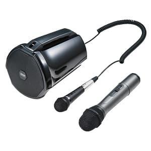 拡声器スピーカー・マイクセット ハイパワータイプ 充電式スピーカー MM-SPAMP3