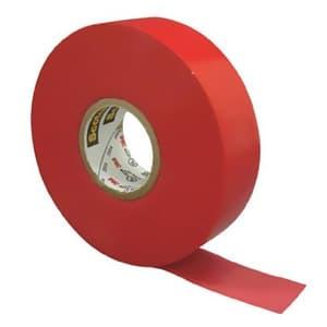 スリーエムジャパン 《スコッチ》 ビニールテープ 耐熱・耐色・難燃タイプ 19mm×20m 赤 35RED