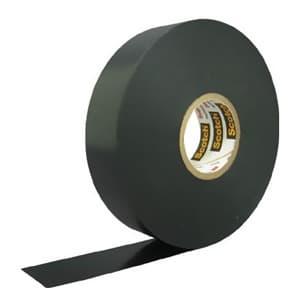 スリーエムジャパン 《スコッチ》 ビニールテープ 耐熱・耐寒・難燃タイプ 19mm×20m 黒 8819*20