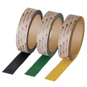すべり止めテープ セーフティ・ウォーク シマ鋼板用 25mm×3m 黒 ABLA25*3
