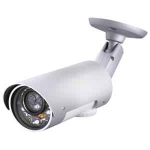 日本防犯システム 【生産完了品】屋外用IRネットワークカメラ バレット型 100万画素 PF-CS714