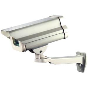 日本防犯システム ダミー防犯カメラ ショートハウジング内蔵型 屋外用 PF-EA713