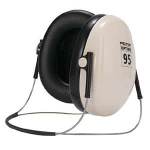 イヤーマフ 《PELTOR》 ネックバンドタイプ 騒音作業用 150×140mm H6B/V