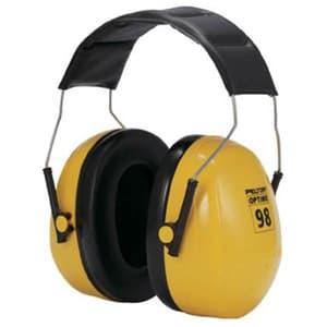 イヤーマフ 《PELTOR》 ヘッドバンドタイプ 騒音作業用 95×220mm H9A