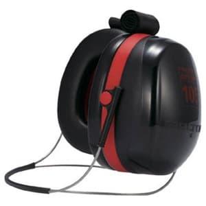 イヤーマフ 《PELTOR》 ネックバンド式 騒音作業用 150×130mm H10B