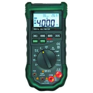 オールインワンデジタルマルチメータ DMM・温度計・湿度計・照度計・騒音計 MT-8210