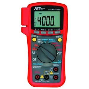 マザーツール デジタルマルチメータ 直流・交流電圧/直流・交流電流/抵抗/静電容量/周波数/デューティー比 MT-4510