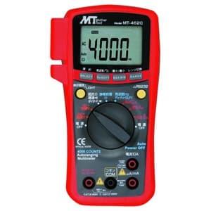 PC対応デジタルマルチメータ 直流・交流電圧/直流・交流電流/抵抗/静電容量/周波数/デューティー比 MT-4520