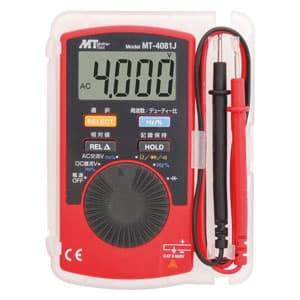 マザーツール カード型オールインワンデジタルマルチメータ 直流・交流電圧/抵抗/静電容量/周波数/デューティー比 MT-4081J