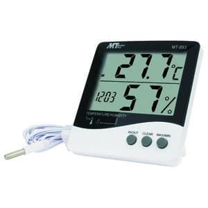 マザーツール デジタルデカ文字温湿度計 コンフォート表示・IN/OUT機能・アラーム機能付 MT-893