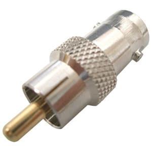 マザーツール 変換コネクター RCAコネクター→BNCコネクター BNC.J-RCA.P