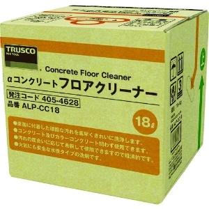 αコンクリートフロアクリーナー 油汚れ用洗浄剤 水性タイプ 蛇口付 内容量18L ALP-CC18