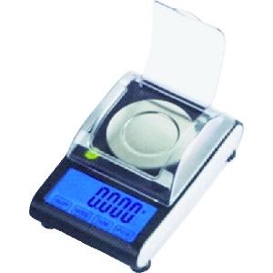カスタム 精密はかり 秤量50g 分銅・ピンセット・スプーン・計量皿付 MS-50