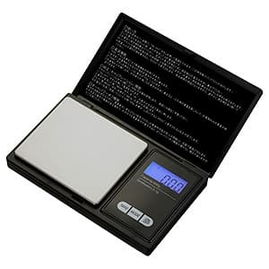 カスタム 【生産完了品】手帳型はかり 秤量500g MS-500