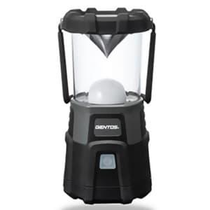 ジェントス 【生産完了品】充電式LEDランタン 耐塵・2m防水タイプ 白色・暖色LED×各18灯 1000lm USBケーブル付 EX-000R