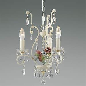 LEDシャンデリア 《ロザーチェ》 LEDランプ交換可能型 白熱球40W×3灯相当 電球色 5.0W×3灯 口金E17 AP40901L