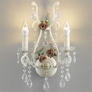 LEDブラケットライト《ロザーチェ》 LEDランプ交換可能型 白熱球40W×2灯相当 電球色 5.0W×2灯 口金E17 AB40902L