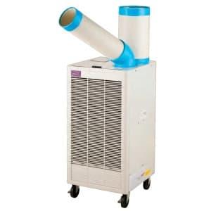 ナカトミ スポットクーラー 床置タイプ 排熱ダクト付 単相100V 首振機能なし 風量2段階切替(弱・強) N407-R