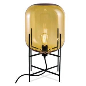 フロアランプ 《ODA M》 60W 白熱レトロ球 白熱普通電球30W相当 E26口金 フットスイッチ付 アンバー LF4475AM