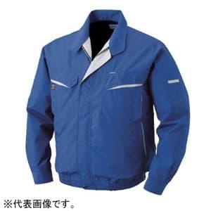 空調服 混紡 充電バッテリータイプ 2Lサイズ ブルー BK-500N-C04-S4