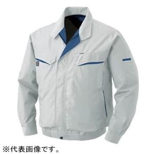 空調服 混紡 充電バッテリータイプ 4Lサイズ シルバー BK-500N-C06-S6