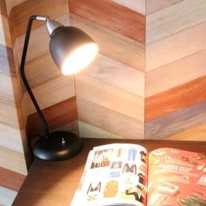 電材堂 アンティークテーブルランプ E17口金 電球別売 ブラック DSDX04