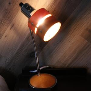 電材堂 北欧風ウッドテーブルランプ E17口金 電球別売 ウッドセード DSDX08