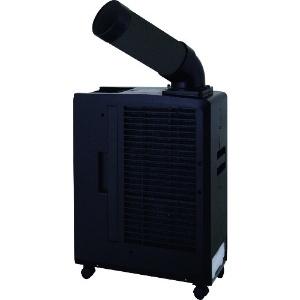 スイデン スポットエアコン 業務用 冷風1口 ポータブルタイプ 100V 自動首振り装置なし ブラック SS‐16MZB-1