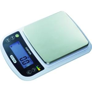 カスタム 防水ミニスケール 秤量5000g 防塵・防水タイプ 重量可変式バックライト機能付 MS-5000WP