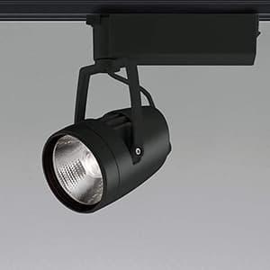 LED一体型スポットライト ライティングレール取付タイプ HID70W相当 3000lmクラス 白色 照度角20° ブラック XS46007L
