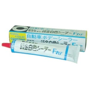 自動車ボディーシーリング剤 鈑金白色シーラーF 乾性タイプ 脱トルエンタイプ 容量180g SE-049