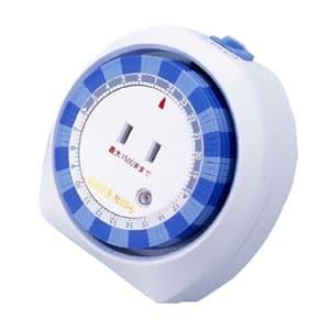 旭電機化成 24時間タイマーコンセント アナログ式 タイマー・常時ON切換スイッチ付 ACT-100