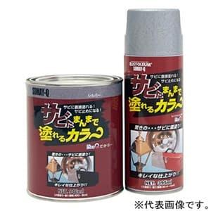 サビたまんまで塗れるカラ〜 エアゾールタイプ 内容量395ml ブラック サビタマンマデカラーブラック395ml