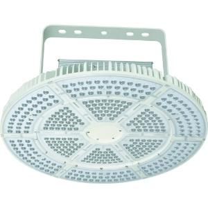 高天井用LED器具 エースディスク500W アーム式(吊下げ型) 水銀灯1000W相当 昼白色 直流電源装置一体型 超スポット15タイプ 照射角15° L500W-P-AVS15-50K