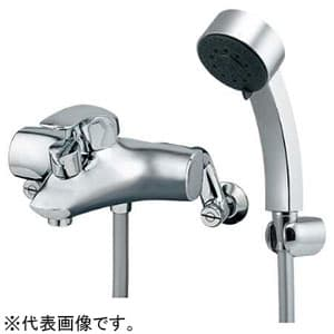 シングルレバーシャワー混合栓 《TAMON》 節湯型 寒冷地用 逆流防止機能付 143-012K