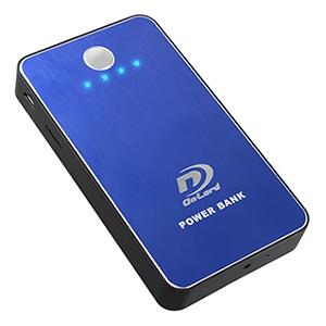 オンスクエア 【生産完了品】小型防犯カメラ モバイルバッテリー型 3000mAh マリンブルー A-640C
