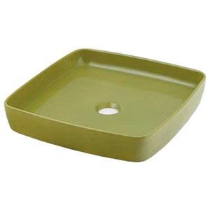 角型手洗器 《MINO》 置形タイプ 排水・国内8 ピスタチオ 493-096-GR