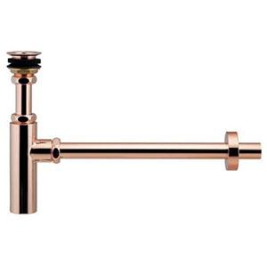 ボトルトラップユニット 十字ストレーナータイプ オーバーフロー機能なしの手洗器用 呼び径25 ピンクゴールド 433-128-25