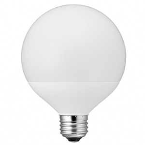 電材堂 LED電球 G95ボール形100W相当 広配光タイプ 昼白色 E26口金 密閉型器具対応 LDG13NG95DNZ