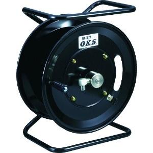 高圧ホースリール 高圧洗浄用 移動スタンドタイプ 手動巻 巻取容量3分ホース30m・4分ホース25m ホース別売 HSP-12MS