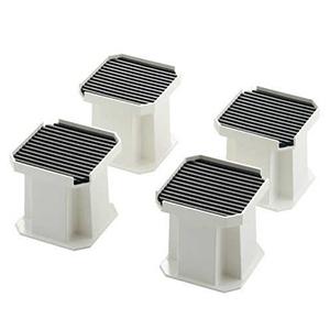 カクダイ 洗濯機用かさ上げ台 高圧洗浄作業用 耐荷重3.6kN 両面テープ付 437-100
