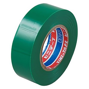電材堂 【生産完了品】ビニールテープ 19mm×10m グリーン ビニールテープ 19mm×10m グリーン SF1910GDNZ