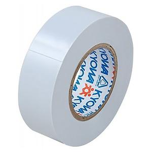 電材堂 【生産完了品】【ケース販売特価 10巻セット】ビニールテープ 19mm×10m ホワイト SF1910WDNZ_set