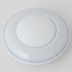 電材堂 【生産完了品】LEDミニプッシュライト 乾電池式 高輝度白色LED×1灯 ホワイト PR5WDNZ