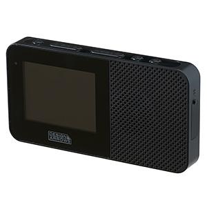 電材堂 【生産完了品】防水ワンセグテレビ 2.3インチディスプレイ ブラック TV05BKDNZ