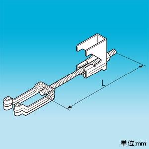 因幡電工 耐震補強金具 H型鋼専用 簡易タイプ用 適合H型鋼フランジ幅100・125mm SHB-HL-125