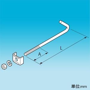 因幡電工 耐震補強金具 H型鋼専用 適合H型鋼フランジ幅100・125mm SHB-HN-125